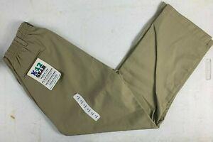 K12 Gear Boys School Uniform Pants NWT Khaki Size 10H or 12H UNI11