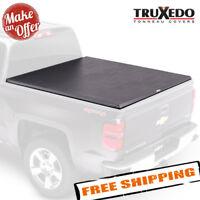 TruXedo 272001 Soft Roll-Up Tonneau Cover - 2014-2018 Sierra/Silverado - 6.5 Bed