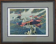 Artist Proof Signed & Numbered by Merv Corning Red Baron Manfred Von Richthofen