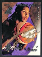 1997 Pinnacle Inside WNBA Rookie #73 Lisa Leslie RC Buyback Auto 19 Donruss 7/14