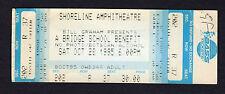 1995 Neil Young Bruce Springsteen Pretenders concert ticket Bridge School