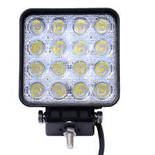 LED Luz de Trabajo Barco Coche 48W LED Lámpara SUV/ATV fuera de carretera 12V