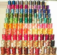 LARGE 160 RAYON Machine Embroidery THREAD +RACK FREE SH