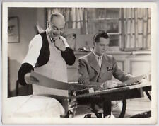 ROBERT MONTGOMERY Eric Blore PICADILLY JIM 1936 comedy Vintage Orig Photo