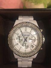 Michael Kors MK5300 White Wrist Watch for Women