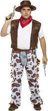 Cowboy Wild West Plus Size Fancy Dress Outfit Costume Size XL-XXL P10240