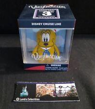 "Disney vinylmation DCL Disney Cruise Line 3"" pluto figure"