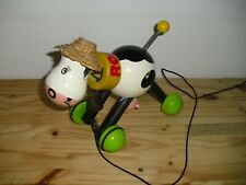 Jouet à traîner Rosy la vache - Vilac