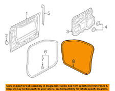 AUDI OEM 04-10 A8 Quattro Front Door-Weatherstrip Seal on Body 4E0831721F
