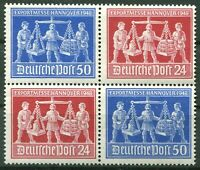 Alliierte Besetzung V Zd 1 postfrisch Exportmesse1948 Zusammendruck Viererblock