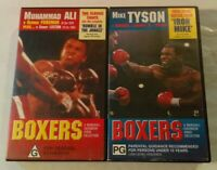 BOXERS VHS 1996 Marshal Cavendish Video Collection Series Volumes 1, 2, 11 & 37