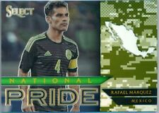 2015 PANINI SELECT SOCCER NATIONAL PRIDE CAMO PRIZM RAFAEL MARQUEZ #'D 109/249