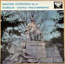 Decca SXL 2059 Kubelik Brahms Sym.2