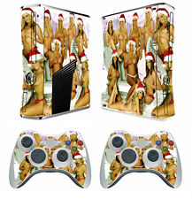 Girls 203 Vinyl Decal Cover Skin Sticker for Xbox360 slim and 2 controller skins