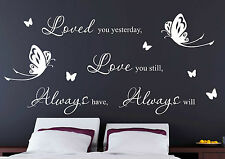 Love You Always word quote wall decor home wall stickers wall decal