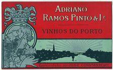 PORT WINE Ramos Pinto ART Nouveau Lady ADVERT Postcard
