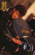 Vintage 1990 New Kids On The Block Poster: Donnie Wahlberg #3302 Mip NewOldStock