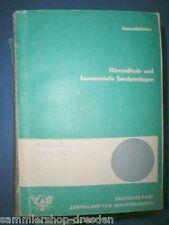 NT19 Deutsche Post DDR 1975 Hörrundfunk-und kommerzielle Senderanlagen Diagramme