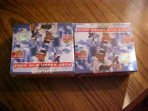 2- Sealed Boxes 2003 Upper Deck First Pitch  36 pack per Box