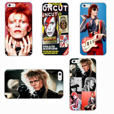 David Bowie Inspired phone case rebel rock singer cover for iphone samsung s8 m8