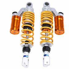 Pair 340mm 13'' Motorcycle Rear Air Shock Absorbers Fit Honda CB750 CB1300 ZRX