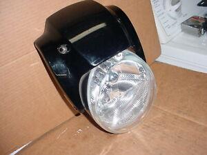 Harley Davidson Vrod VRSCDX Night Rod Headlight 67700030 Vivid Black 8698