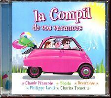LA COMPIL DE VOS VACANCES - 80'S MUSIC - CD COMPILATION [2138]