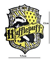 HUFFLEPUFF HARRY POTTER IRON OR SEW ON PATCH EMBROIDERED BADGE LOGO