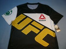 Reebok UFC Jose Aldo Brazil LARGE Slim Fit BRAND NEW Jersey Shirt MMA NWT