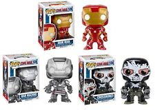 Iron Man 126 War Machine 128 Crossbones 134 Funko Pop! 3 Figure Set Civil War
