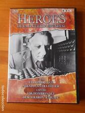 DVD HEROES DE LA II GUERRA MUNDIAL - CAP. VII Y VIII (H7)
