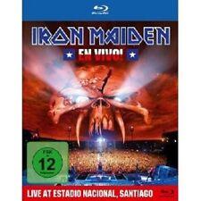 "Iron MAIDEN ""En vivo! en direct à santiago du Chili"" Blu-ray NEUF"