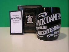JACK DANIELS BICENTENNIAL SHOT GLASS New in Box with COA Daniel's