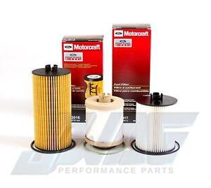 08-10 6.4L Powerstroke Diesel Genuine Ford Motorcraft OEM Oil & Fuel Filter Kit
