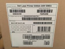 Dell 5350DN 5350 DN A4 Mono Duplex USB Network Desktop Laser Printer BRAND NEW