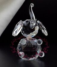 Optical Crystal Prism Lucky Elephant Figurine 3.5""