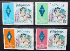 PHILIPPINES 1973 Theatre Festival Manila. Set of 4 Mint Never Hinged SG1302/1305