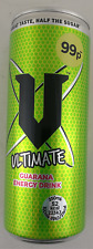 V Ultimate Energy Drink Half The Sugar 250ml x 24 Cans