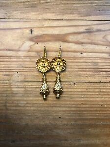 vivienne westwood earrings gold
