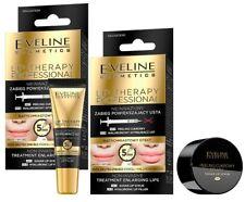 EVELINE treatment enlarging lips 2in1 Suger Lip Scrub +Hyluronic Lip Filler LOT2