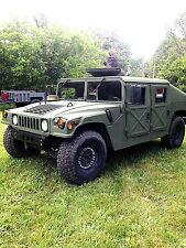 TITLED AM General  Military Humvee/Hummer/H1 Slant Back 4x4 Diesel
