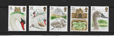 1993 GB -  ABBOTSBURY SWANS - USED SET OF FIVE