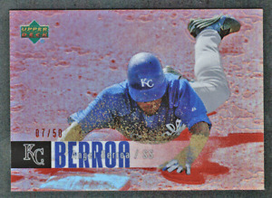 2006 UD Special F/X Red Refractor #220 Angel Berroa #/50 Kansas City Royals