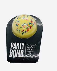 Da Bomb Party Bomb Bath Fizzer with Surprise Inside Pineapple 3.5oz