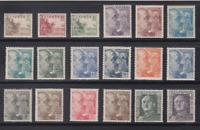SPAIN - MNH - (1949) EDIFIL# 1044/61 - YT# 785/94+817/820A FRANCO
