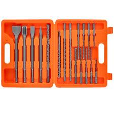 Wellcut SDS Plus Rotary Hammer Drill & Chisel Set 17 PCS