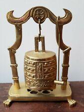 Brass Bell Ringer with Mallet