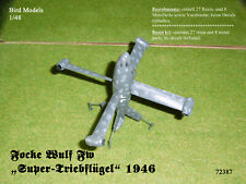 "Zerstörer/""  1//72 Bird Models ResinUMbausatz//resin conversion Haunebu I V7 /""Schw"