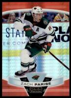 2019-20 OPC Platinum Red Prism #70 Zach Parise /199 - Minnesota Wild