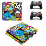 ps4 slim sticker console decal playstation 4 controller vinyl skin Vice City